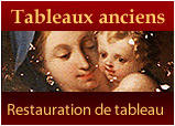 Restauration de tableau ancien Paris